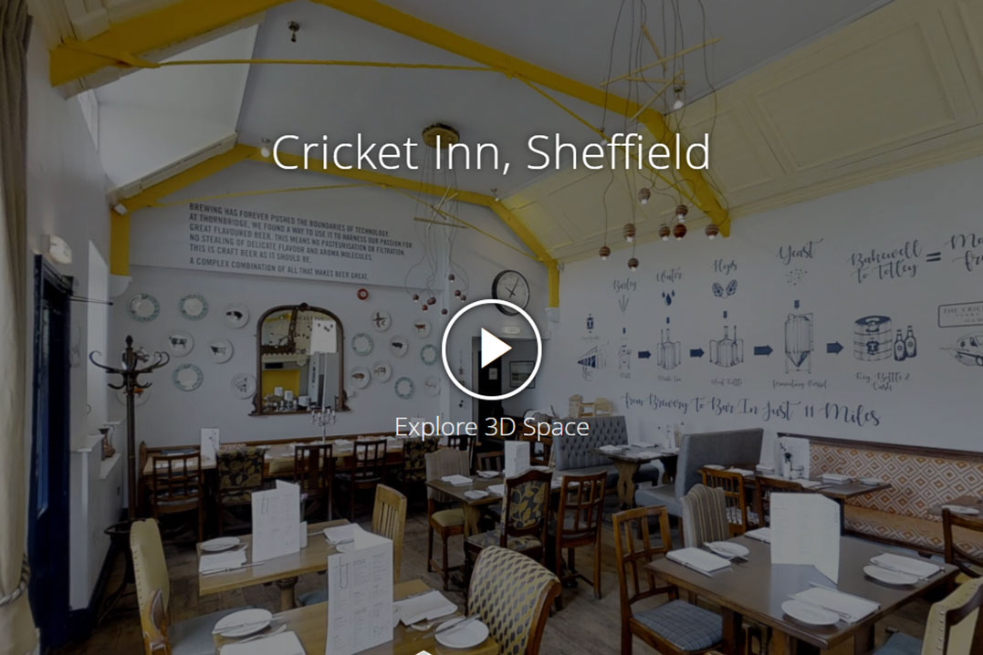 Cricket Inn, Sheffield - virtual tour